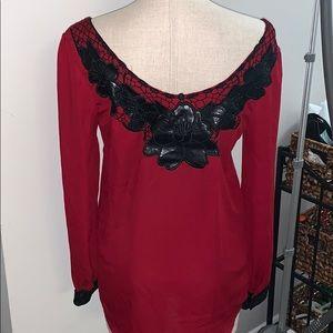 Francesca's boutique blouse